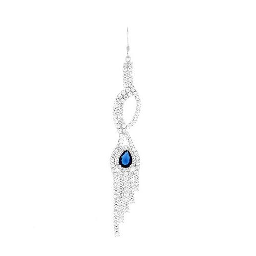 boucle oreille femme argent zirconium 9300127 pic2