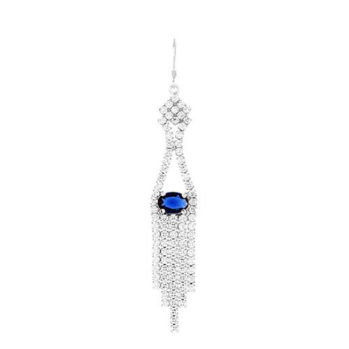 boucle oreille femme argent zirconium 9300138 pic2