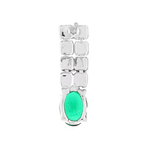 boucle oreille femme argent zirconium 9300150 pic4