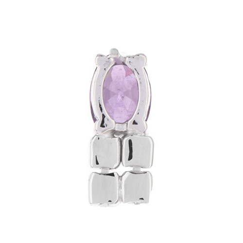 boucle oreille femme argent zirconium 9300152 pic4
