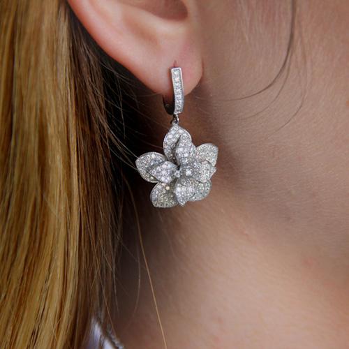 boucle oreille femme argent zirconium 9300161 pic6