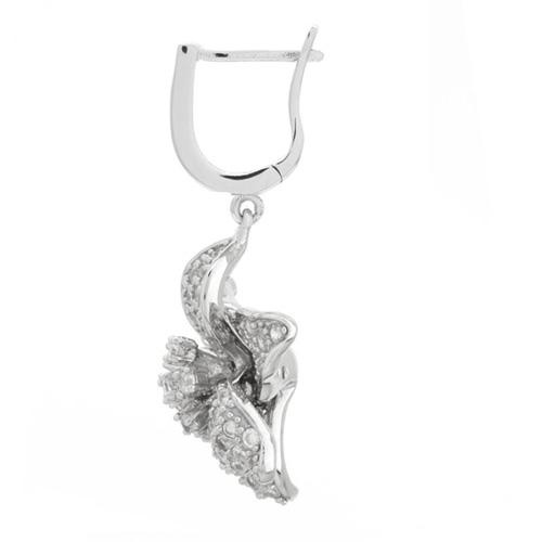 boucle oreille femme argent zirconium 9300162 pic3