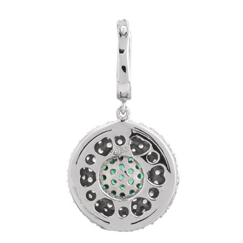 boucle oreille femme argent zirconium 9300166 pic4