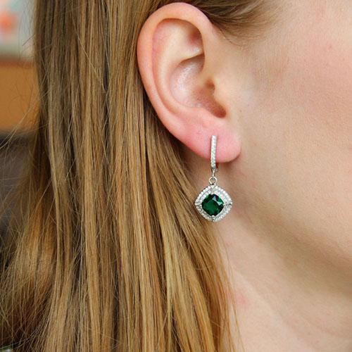 boucle oreille femme argent zirconium 9300197 pic5
