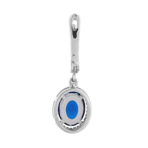 boucle oreille femme argent zirconium 9300199 pic4