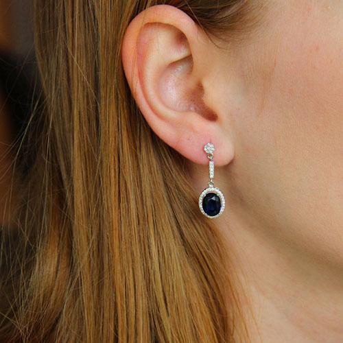 boucle oreille femme argent zirconium 9300200 pic5