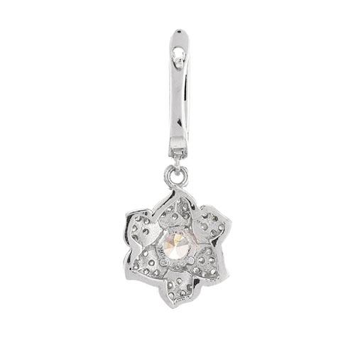 boucle oreille femme argent zirconium 9300212 pic4
