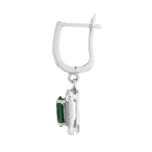 boucle oreille femme argent zirconium 9300213 pic3