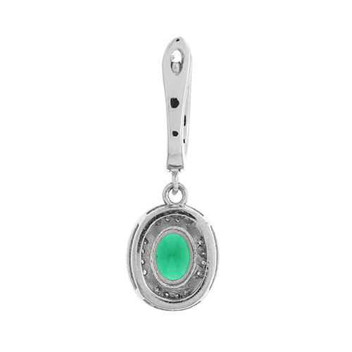 boucle oreille femme argent zirconium 9300213 pic4