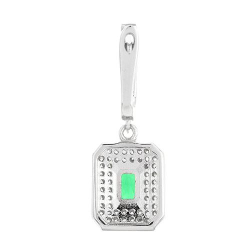 boucle oreille femme argent zirconium 9300218 pic4