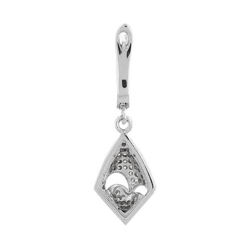 boucle oreille femme argent zirconium 9300230 pic4