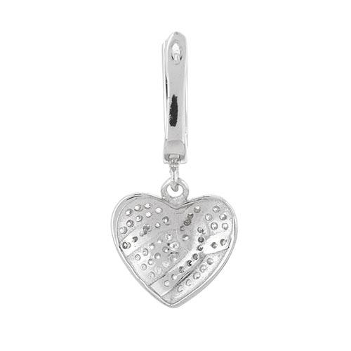 boucle oreille femme argent zirconium 9300232 pic4