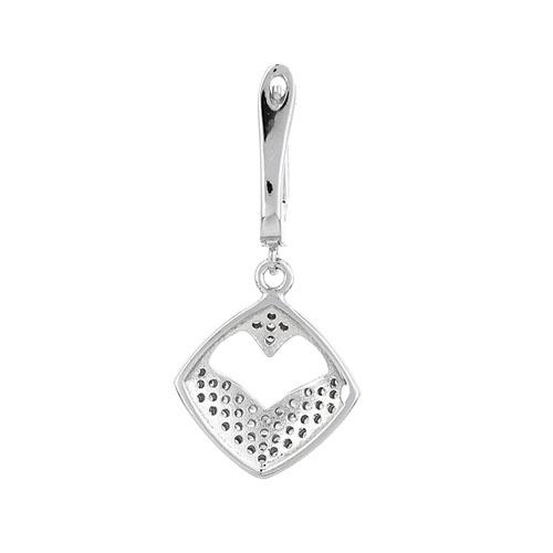 boucle oreille femme argent zirconium 9300234 pic4