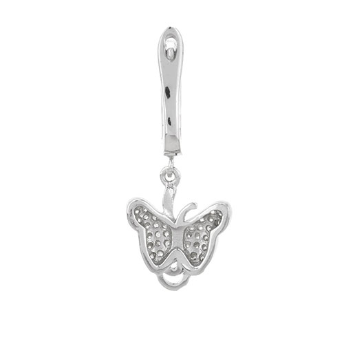 boucle oreille femme argent zirconium 9300240 pic4