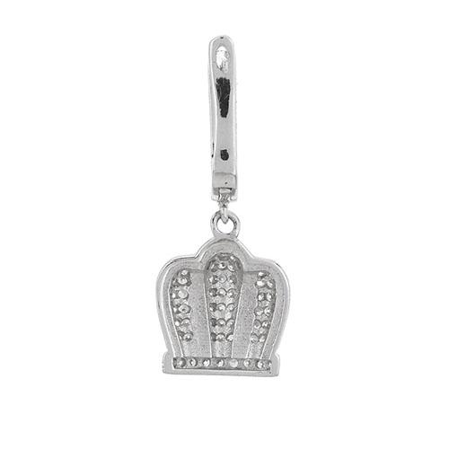 boucle oreille femme argent zirconium 9300243 pic4