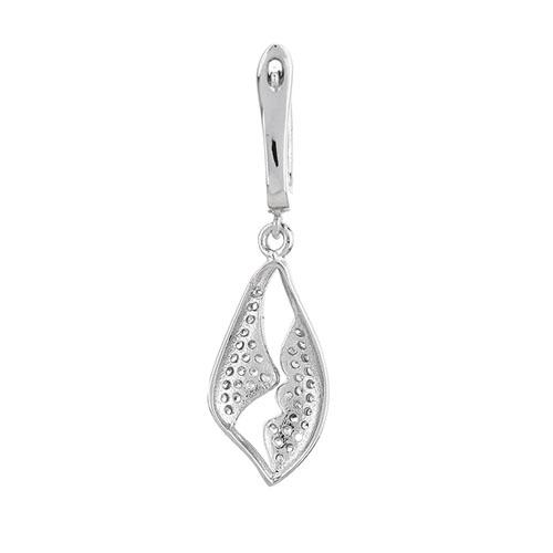boucle oreille femme argent zirconium 9300244 pic4