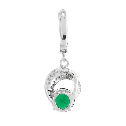boucle oreille femme argent zirconium 9300248 pic4