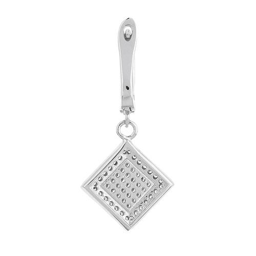 boucle oreille femme argent zirconium 9300258 pic4