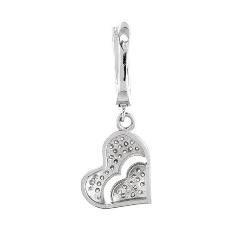boucle oreille femme argent zirconium 9300262 pic4