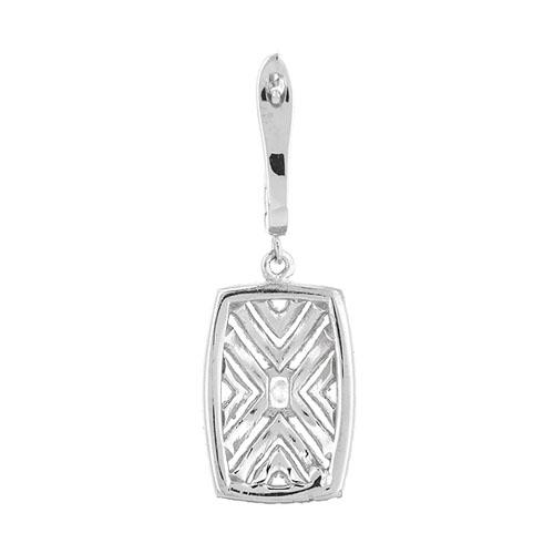 boucle oreille femme argent zirconium 9300266 pic4