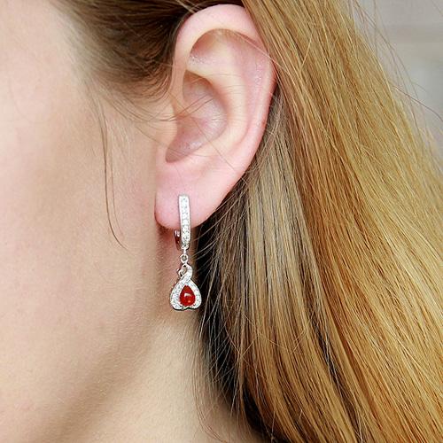 boucle oreille femme argent zirconium agate 9300098 pic5