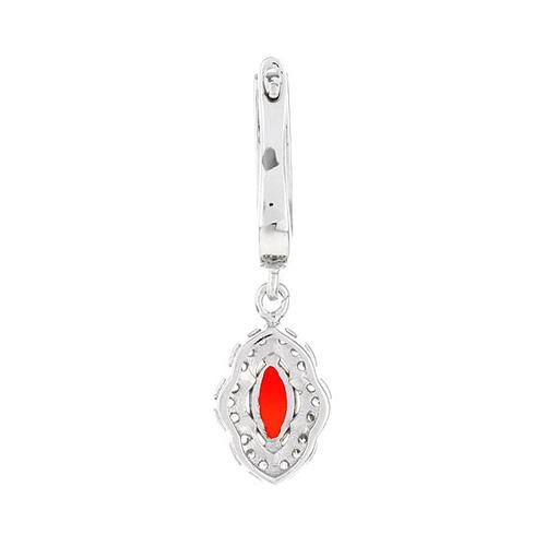boucle oreille femme argent zirconium agate 9300099 pic4