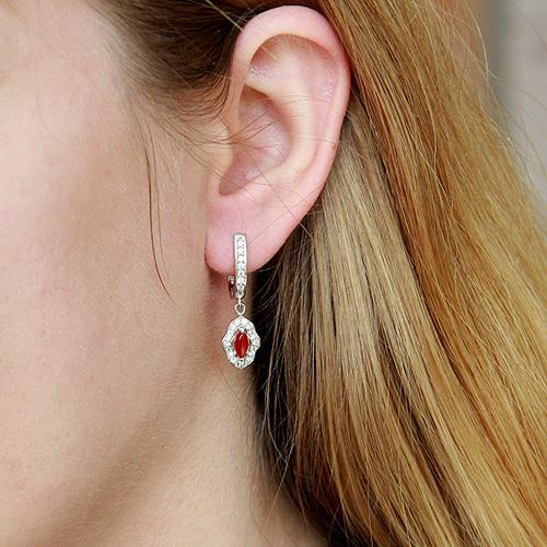 boucle oreille femme argent zirconium agate 9300099 pic5