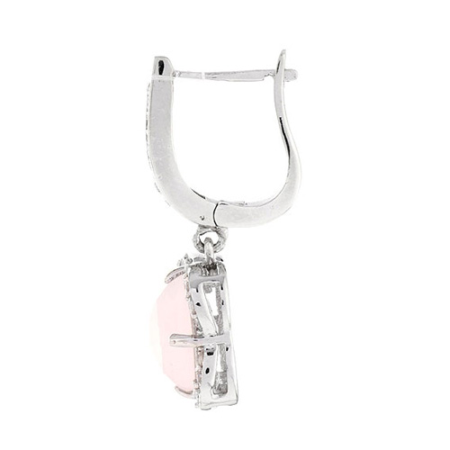 boucle oreille femme argent zirconium cristal 9300141 pic3