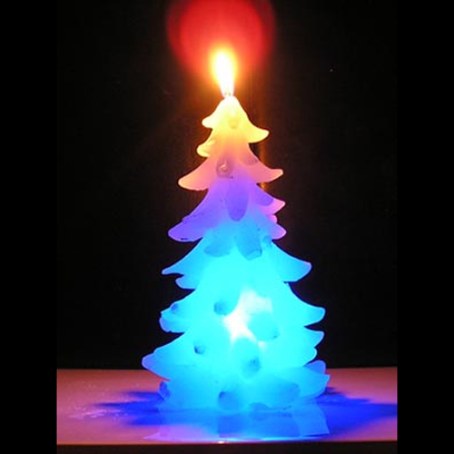 bougie led sapin noel YD022