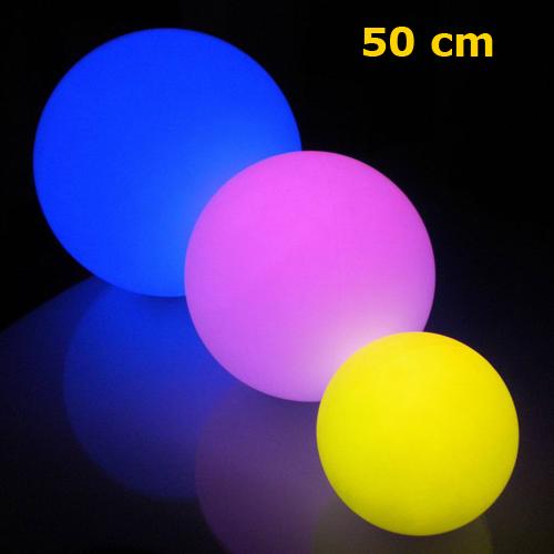 boule lumineuse led 50cm