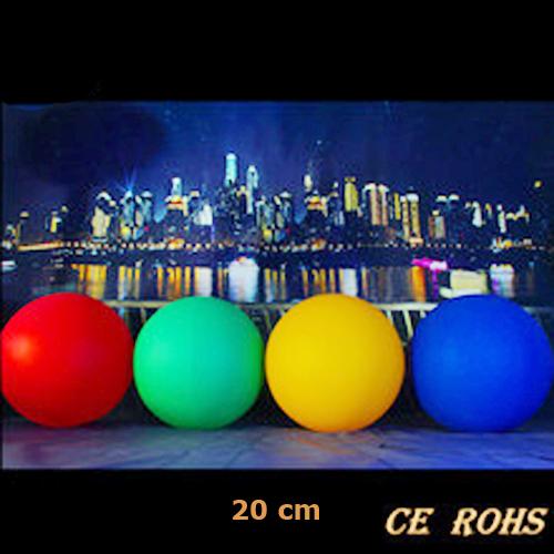 boule lumineuse led multicolore 20cm BOULED20