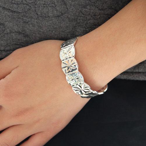 bracelet femme argent 9600001 pic4