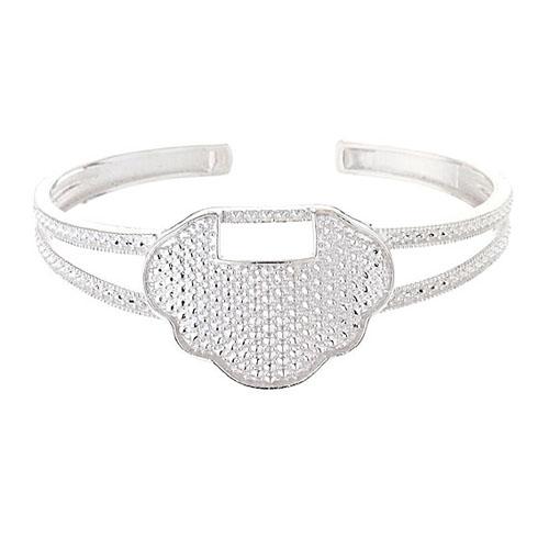 bracelet femme argent 9600002