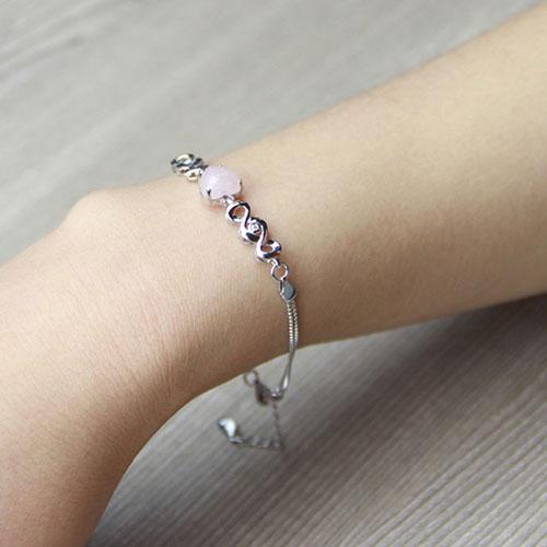 bracelet femme argent cristal 9500110 pic4