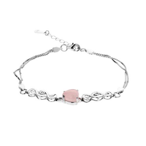 bracelet femme argent cristal 9500110