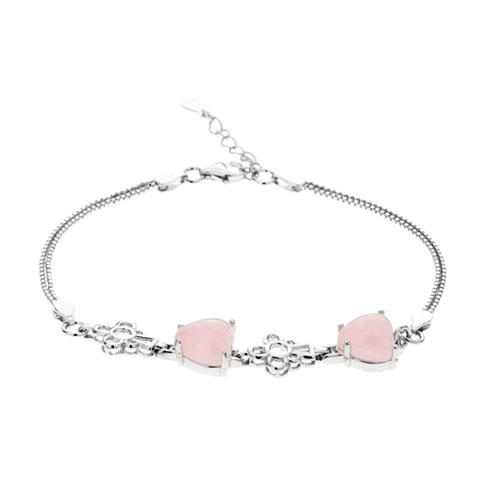 bracelet femme argent cristal 9500113