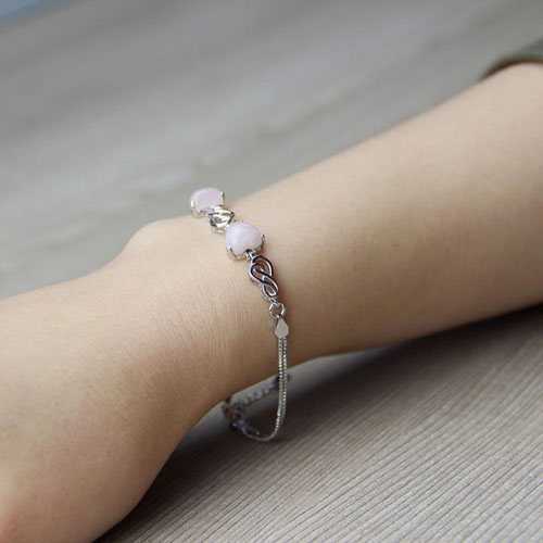 bracelet femme argent cristal 9500115 pic5
