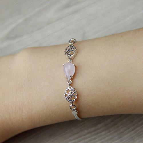 bracelet femme argent cristal 9500117 pic4