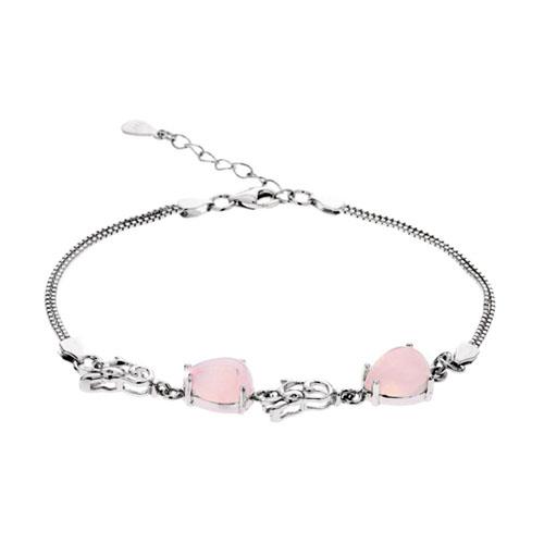 bracelet femme argent cristal 9500118