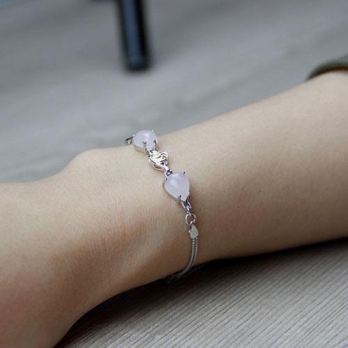 bracelet femme argent cristal 9500123 pic5