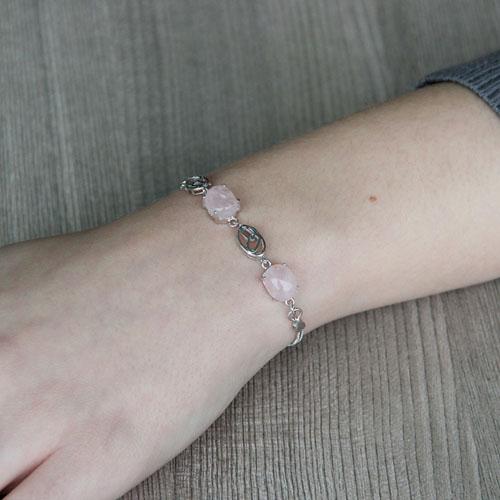 bracelet femme argent cristal 9500147 pic4