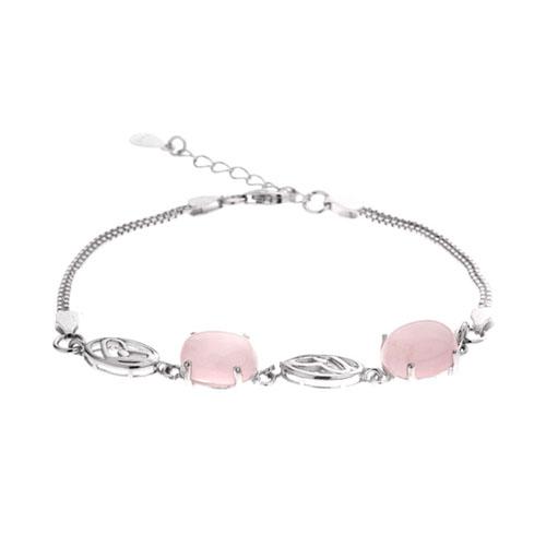 bracelet femme argent cristal 9500147