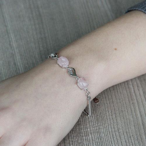 bracelet femme argent cristal 9500149 pic4