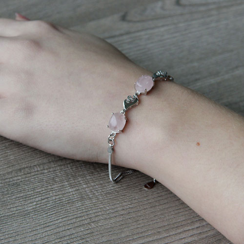 bracelet femme argent cristal 9500149 pic5