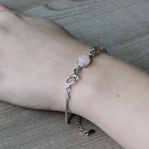bracelet femme argent cristal 9500153 pic5