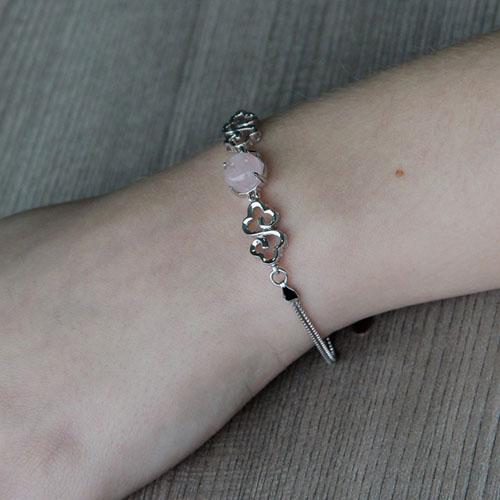 bracelet femme argent cristal 9500155 pic4