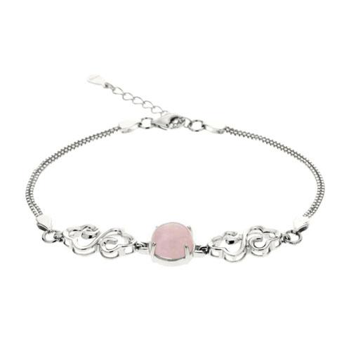 bracelet femme argent cristal 9500155