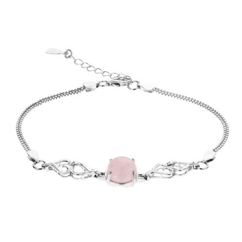 bracelet femme argent cristal 9500156