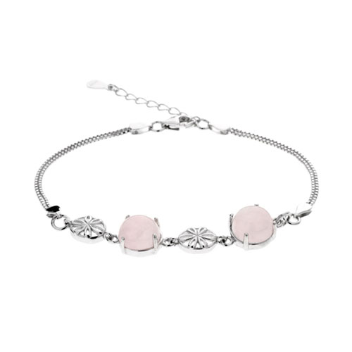 bracelet femme argent cristal 9500159