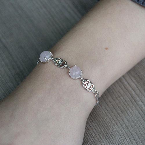 bracelet femme argent cristal 9500160 pic4